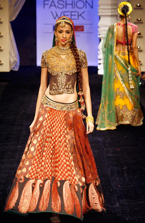 Alesia Raut for Neeta Lulla