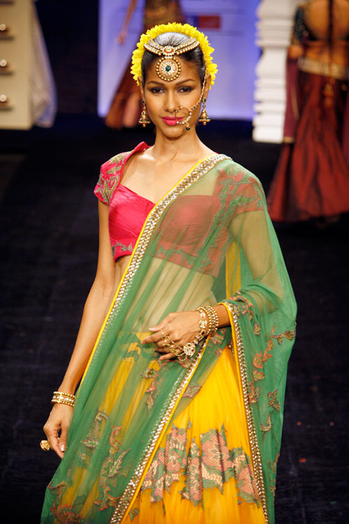 Nethra Raghuraman for Neeta Lulla