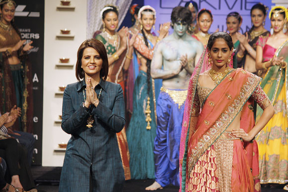 Neeta Lulla and Diva Dhawan