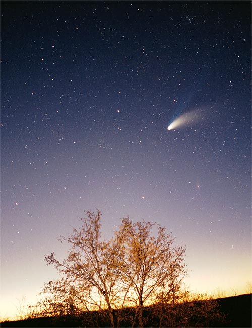 Delhi boy Prafull Sharma discovers a NEW COMET