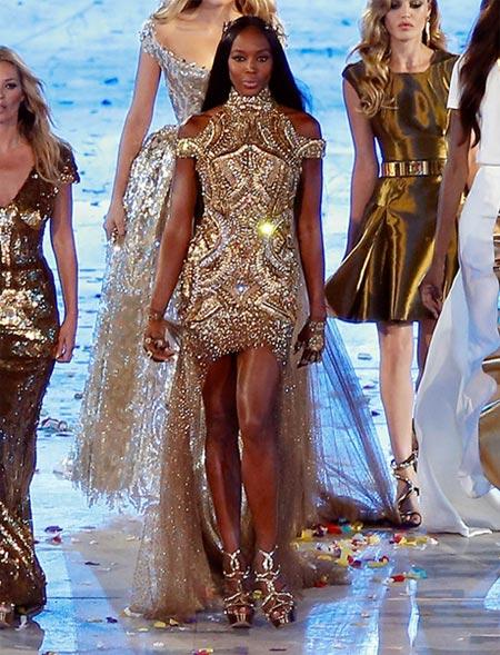 Naomi Campbell for Alexander McQueen