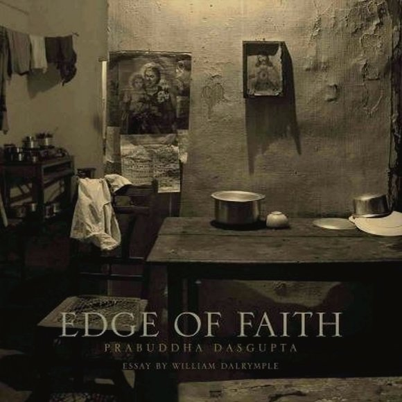 Cover of Edge of Faith in which he collaborated with William Dalrymple
