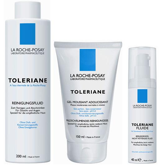 The La Roche-Posay Toleriane range