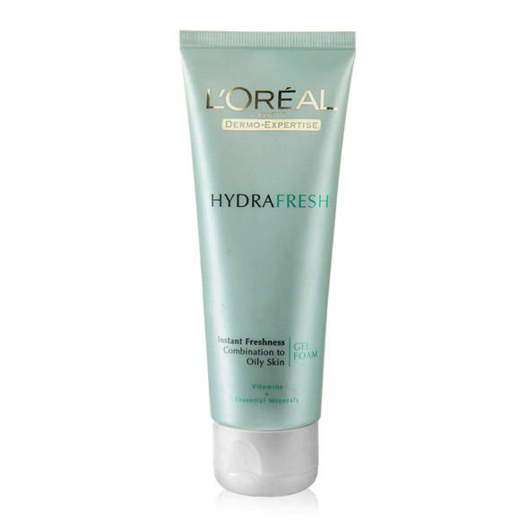 L'Oreal Paris Hydrafresh Instant Freshness Foaming Gel