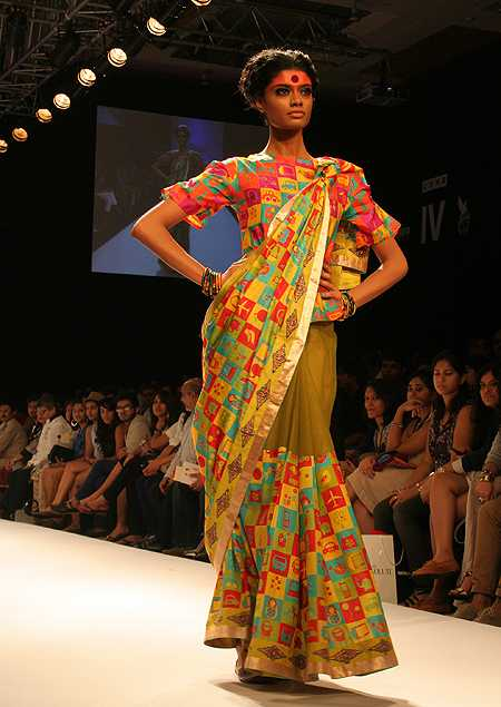 Model Archana Akil Kumar, Deepika Govind's showstopper