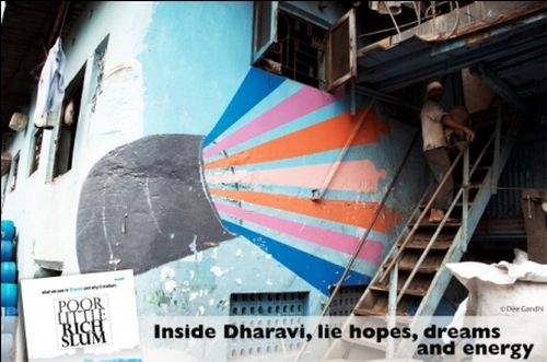 'There is pride in what people in Dharavi do'