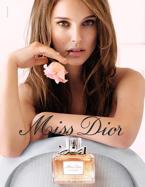 Natalie Portman for Miss Dior Eau Fraiche