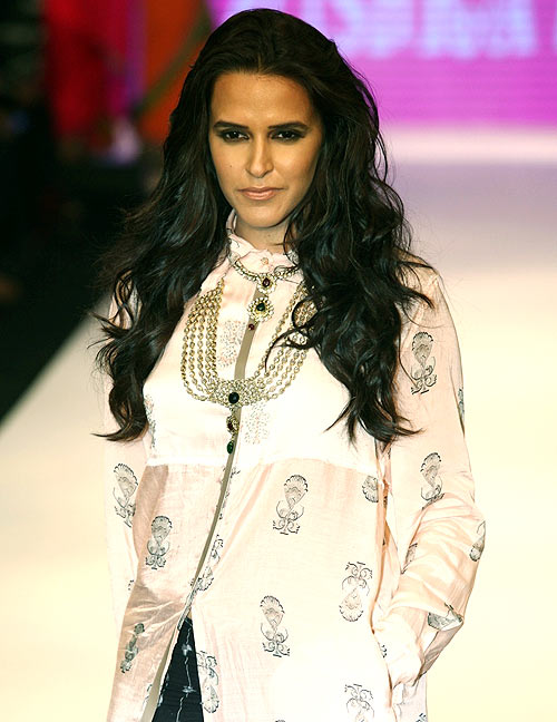 Neha Dhupia for Asmi by Gitanjali