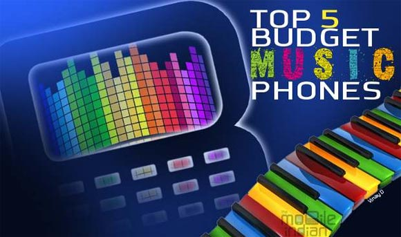 Top 5 music phones under Rs 6,000
