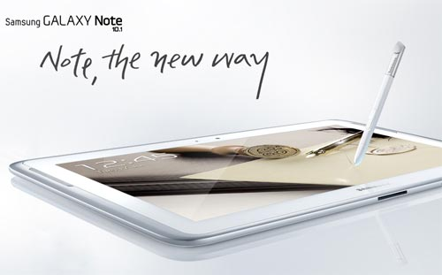 Samsung's Galaxy Note tablet launched for Rs 40K