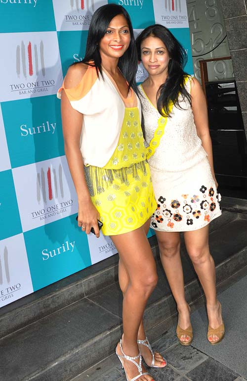 Nina Manuel and Surily Goel