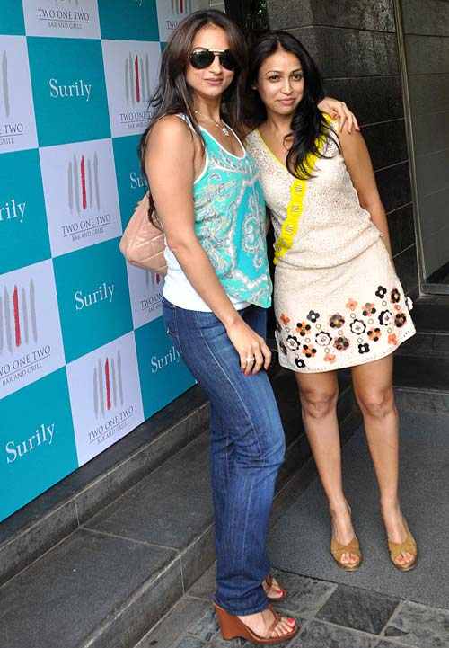 Seema Khan and Surily Goel