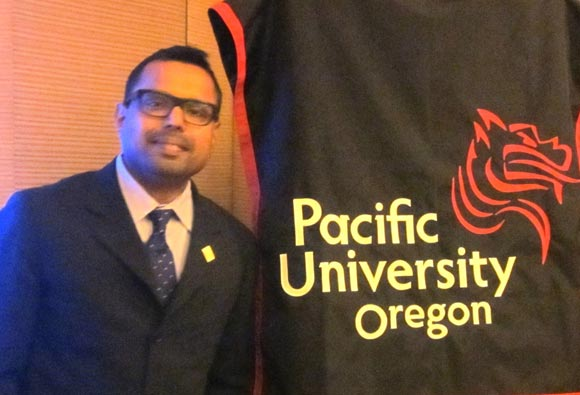 Derrick Alex, Director of International Recruitment and Admissions, Pacific University, Oregon