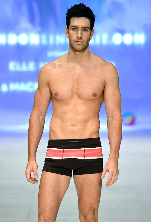 A MacPherson for Men design at the Bendon lingerie showing