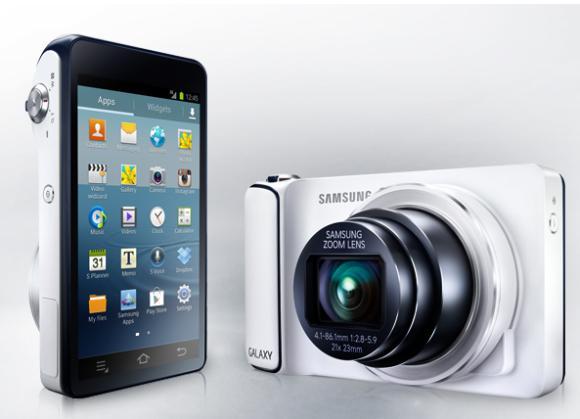 Samsung Galaxy Camera technology