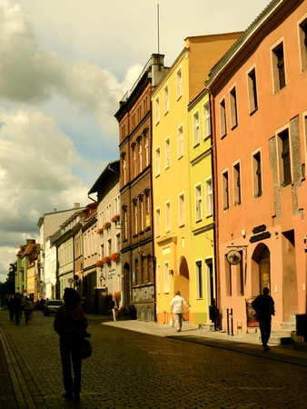 Houses in the old town of Torun