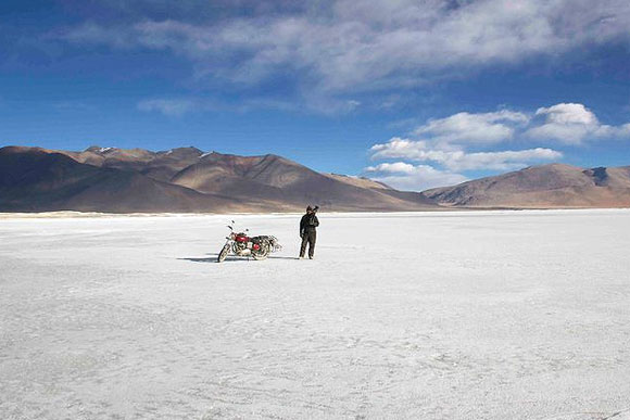 Riding solo to Ladakh's Chang pa nomads