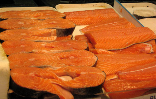Supplement Vitamin D from sun exposure by consuming oil fish such as salmon