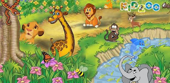 Kids Zoo Animal Sounds and Photos