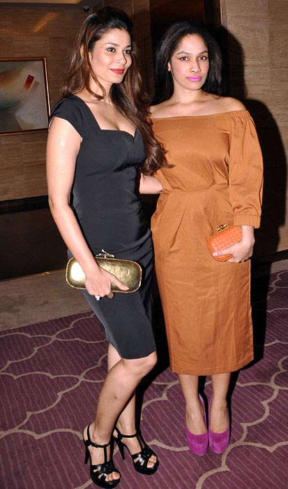 Shaheen Abbas and Masaba Gupta