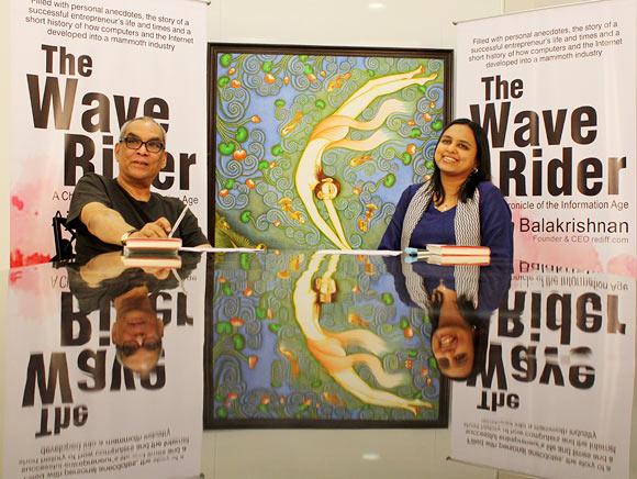 Ajit Balakrishnan with Rashmi Bansal