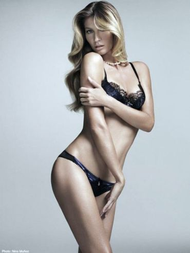 Gisele Bundchen Brazilian Intimates for Hope Lingerie ad campaign