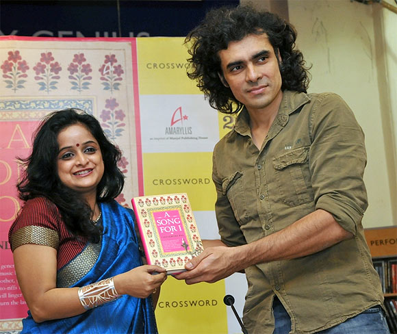 Imtiaz Ali launches Chandrima Pal's book, A Song For I