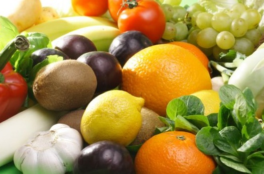 Keep fruit and veggies in daylight to boost nutrients