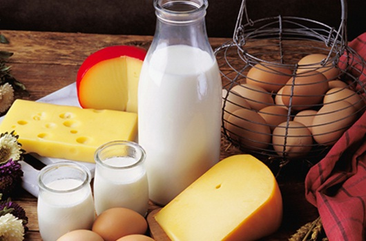 Dairy products produce a hormone that signals the body to store visceral fat.