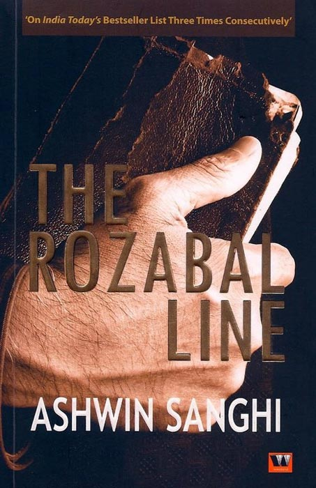 Book cover: The Rozabal Line