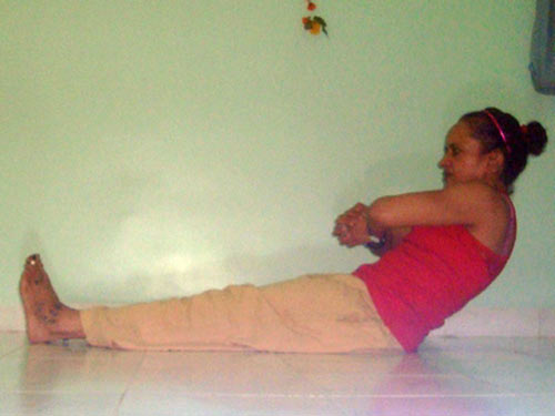 Chakkichalanasana (Grinding the mill pose)