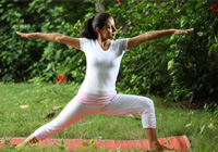 Veerbhadrasana (Warrior Pose)
