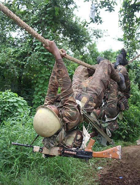 5. Commando training
