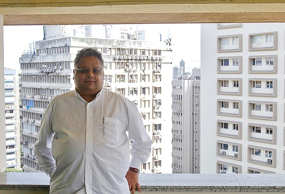 Rakesh Jhunjhunwala is the founder of Rare Enterprises, an asset management firm