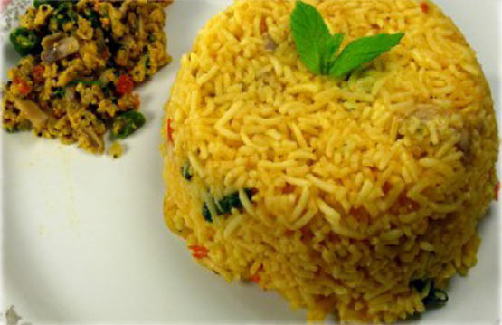 Hot and Spicy Tomato Rice