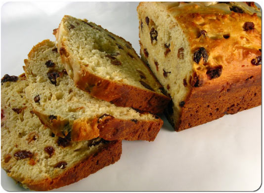 Luxury Fruit Bread