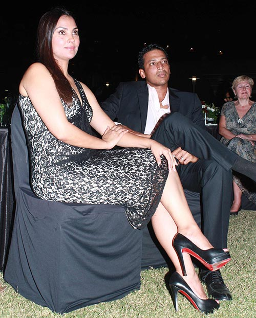 Lara Dutta attended with husband Mahesh Bhupathi