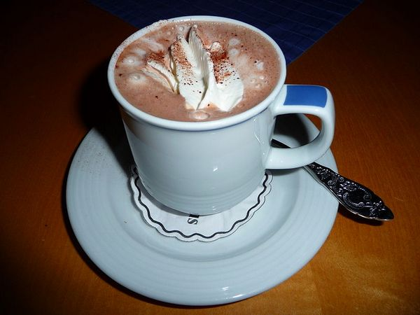 Tempting as it looks, hot chocolate can ruin your tummy