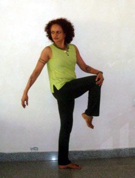 Uttihita Marichayasana (Extended sage Marichay's pose)