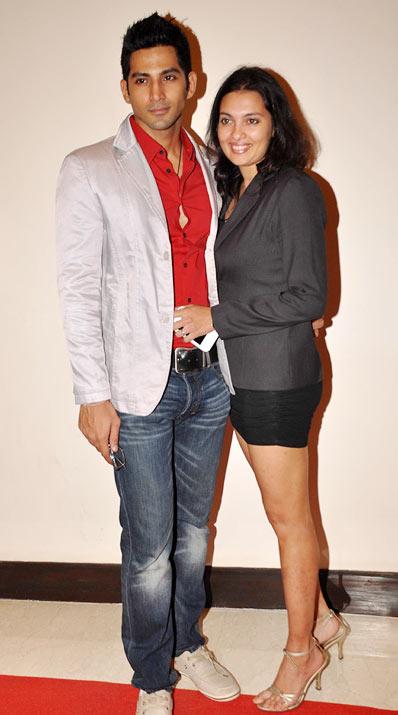 Vivaan Bhathena and Nikhila Palat