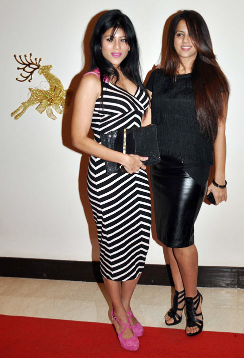 Wardha Nadiadwala and an unidentified guest
