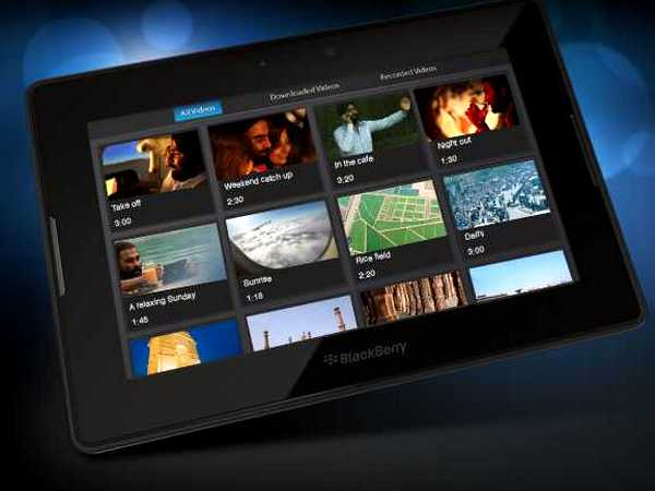 A tablet like the BlackBerry PlayBook may not be of a lot of use if you don't have wi-fi connectivity