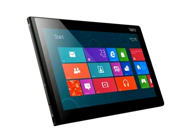 There are numerous Windows 8-powered tablet PCs, ThinkPad Tablet 2 being one of them
