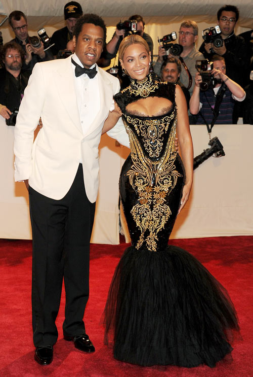 Jay-Z and Beyonce; the superstar couple are parents to daughter Blue Ivy (not pictured)