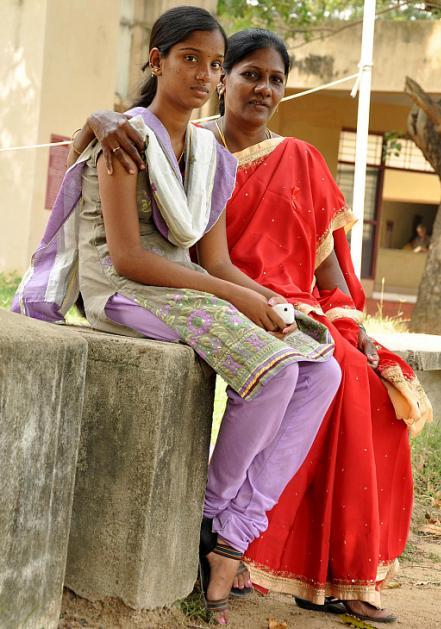 Ilavarasi with Esther at Indian Community Welfare Organisation