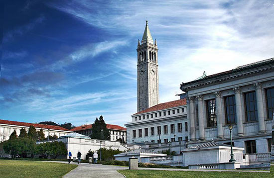 Campus of the UC Berkeley, California, United States
