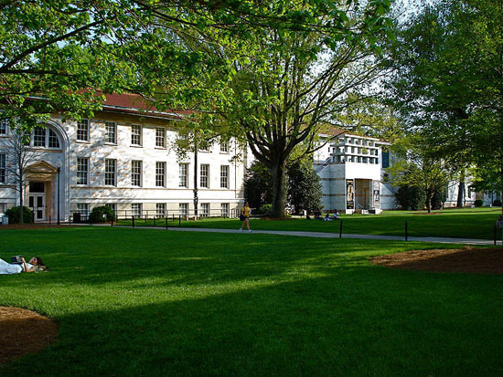 The Emory University campus is known to inspire students to chase their creative pursuits