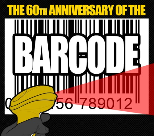 This year barcode completed its 60th anniversary and special thanks to WaspBarcode for visualising the 60 Years of Journey of the Barcode in Infographic.