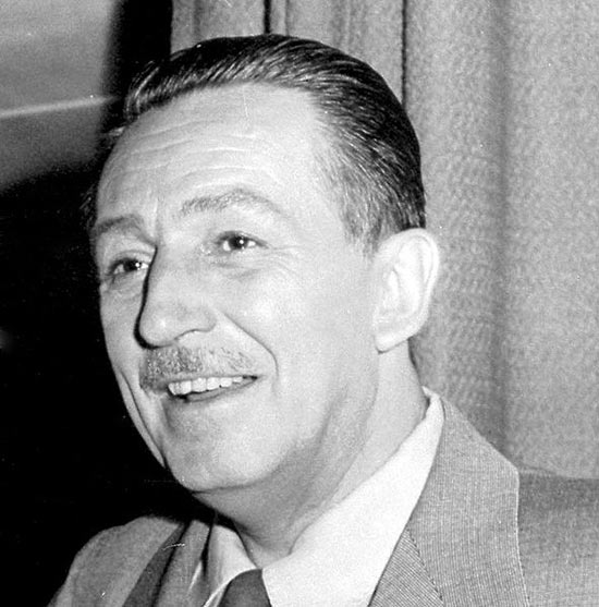 Walter Disney won honorary degrees from several universities such as Yale, Harvard and UCLA