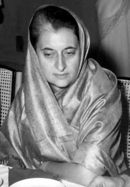 Indira Gandhi sought inspiration from her grandfather Motilal Nehru